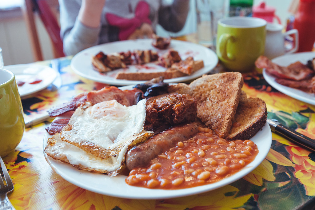 Seven Bees Cafe Full English Breakfast
