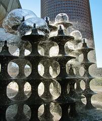 waterworks, fountains