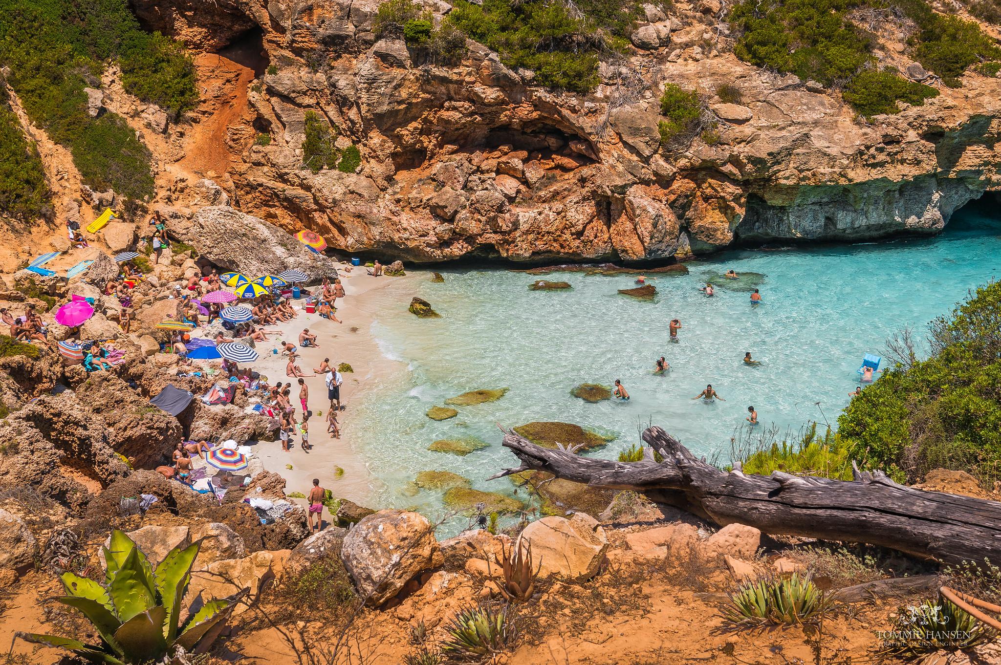 12 espectaculares calas que parecen piscinas naturales de - Piscinas en palma de mallorca ...