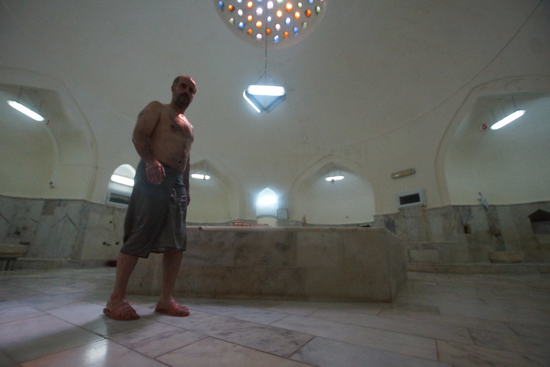 Inside the hamam