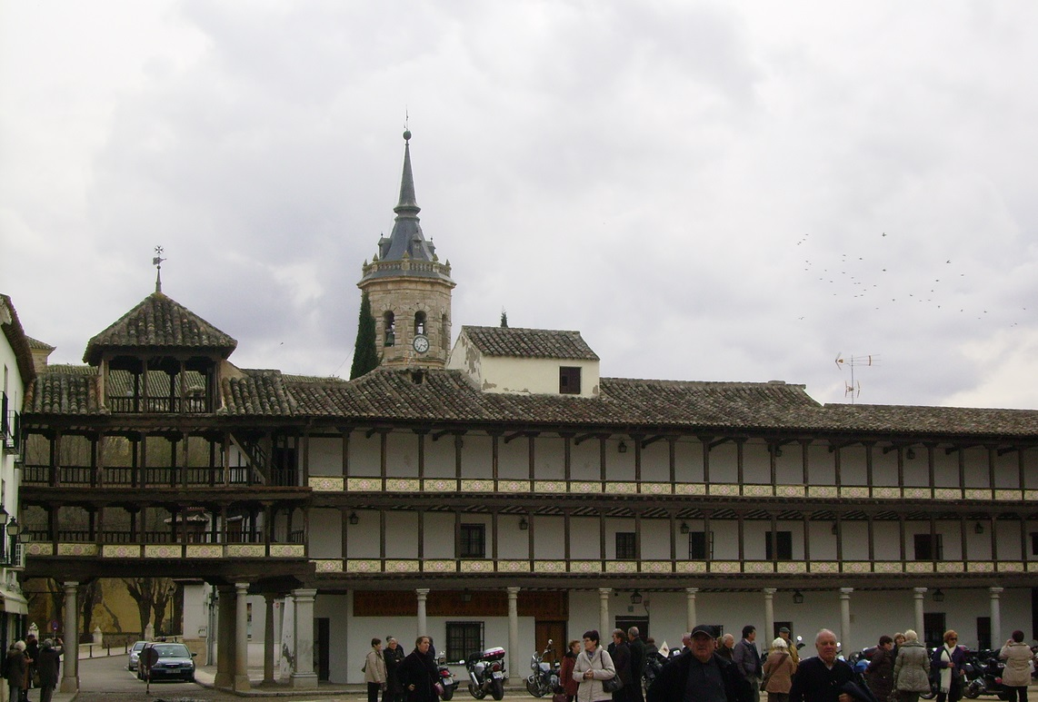 7. Plaza Mayor de Tembleque. Autor, Vulcano