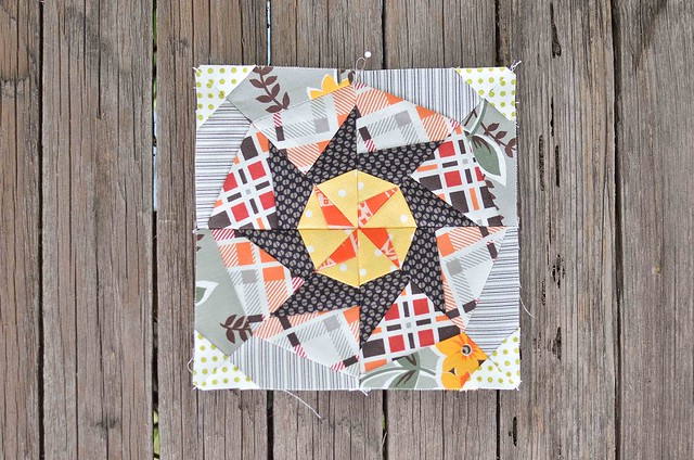 September Lucky Stars Block
