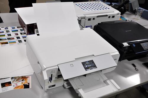 エプソン - カラリオ・プリンター(2013年秋冬モデル)「EP-976A3」「EP-806」 新商品体験+モニターイベント_053