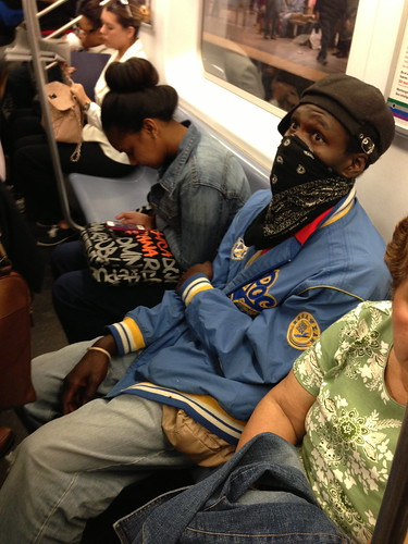 On the subway