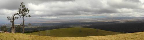 panorama usa hawaii puuwaawaa