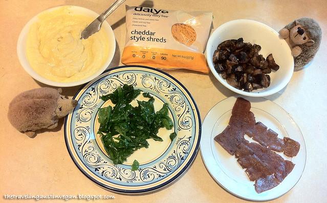 Vegg Omelette Ingredients