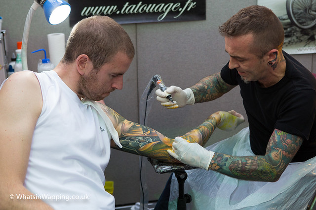 London Tattoo Convention 2013