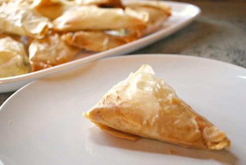 Tiropita {Greek Cheese Triangles}