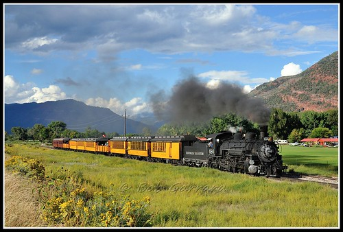 railroad rio colorado silverton grand denver western type works mikado locomotive gauge narrow durango baldwin 486 282 k36