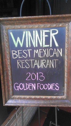 Winner Best Mexican Restaurant