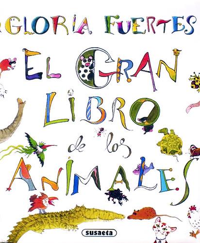 Cubierta de El gran libro de los animales