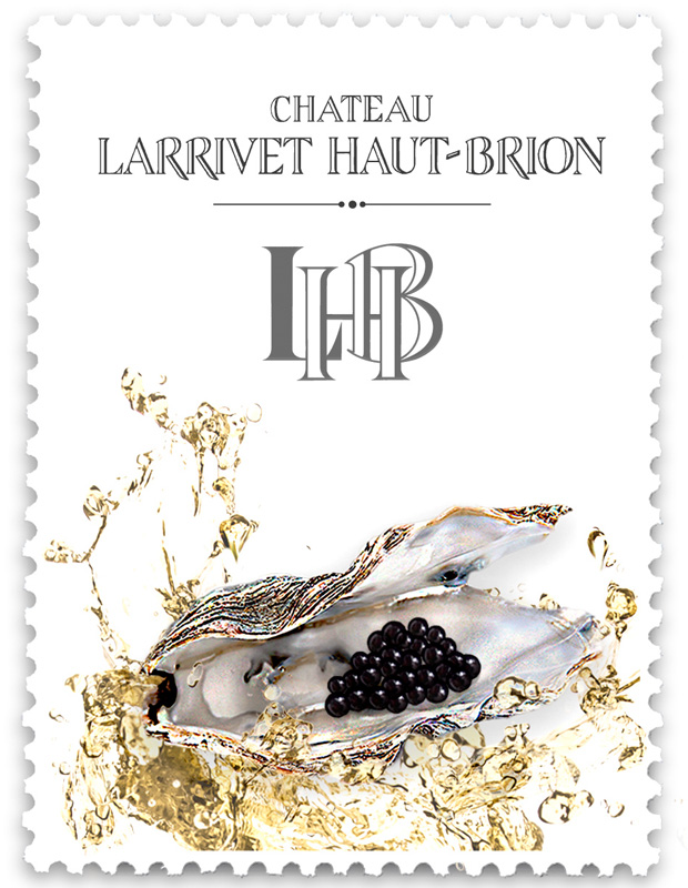 Timbre huître caviar