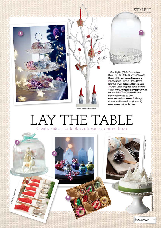 Lay the Table-Handmade Magazine