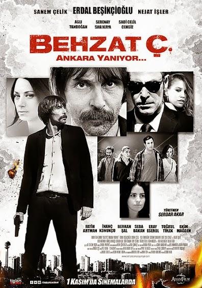 Behzat Ç. Ankara Yanıyor Film Afişi