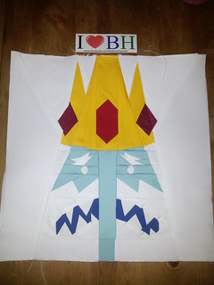ice king block designed by meee www.facebook.com/beekneehoonies