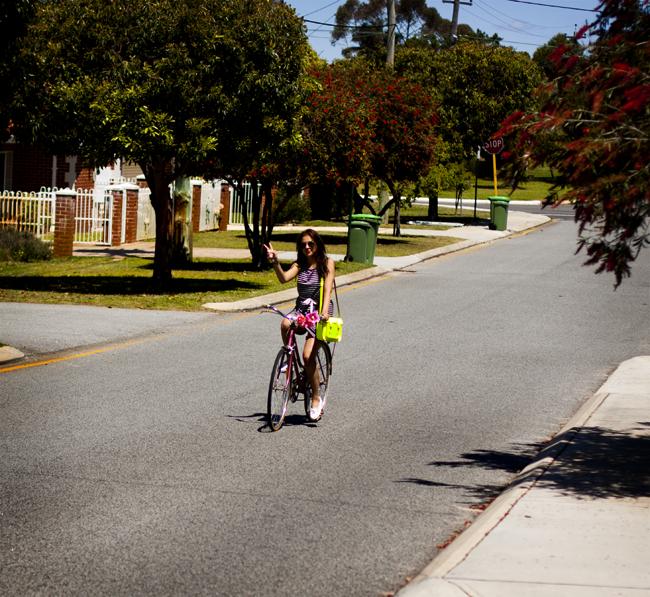 pyöräillen