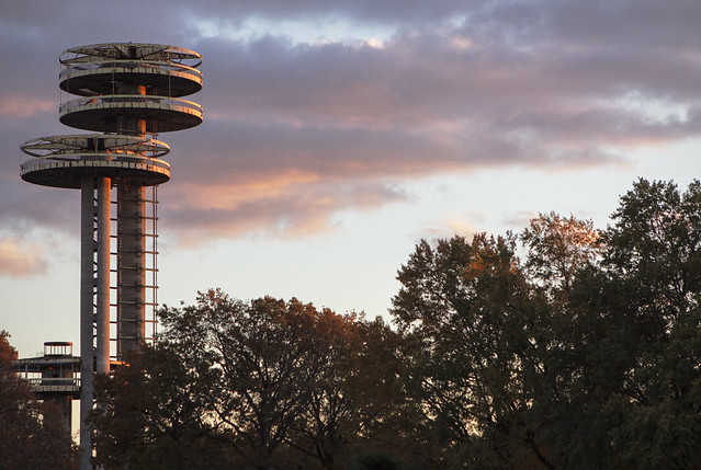 Flushing Meadows Corona Park World's Fair Observation Towers