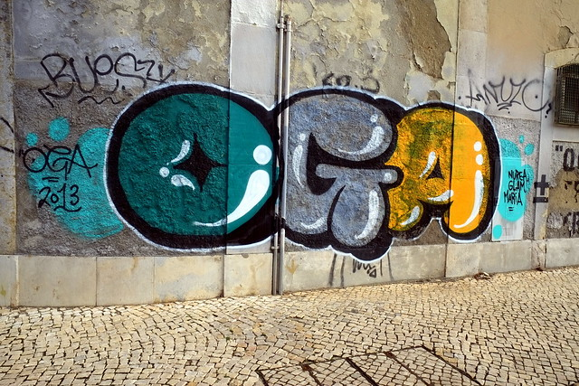 graffiti | oga | lisbon