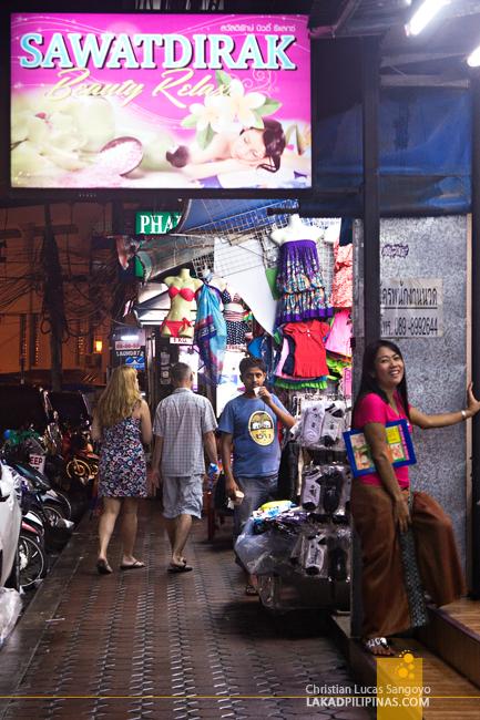 Massage Parlors at Phuket's Patong Beach