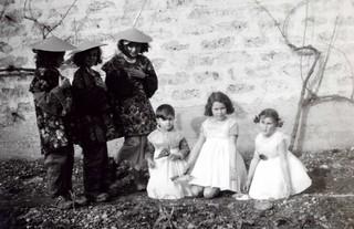 Fête de l'école, 1943-1944, St Quentin Fallavier