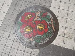 熊本市内のマンホール