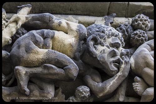 Detalle Catedral Vitoria