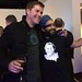 Kraig and Narinder at the Dropbox Party -- Love the Shirt Narinder!