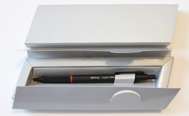 rOtring Rapid Pro Ballpoint Packaging
