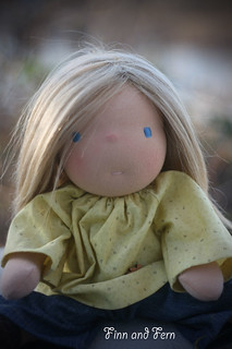 Paige - a 13 inch Waldorf Inspired Doll