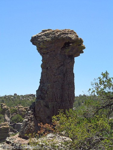 Thor's Hammer, Heart of Rocks Loop Trail, Chiricahua National Monument, Arizona