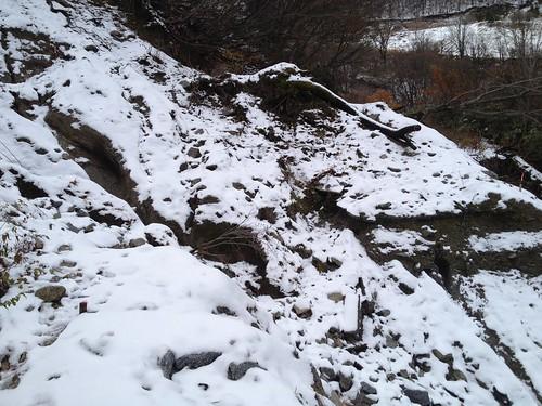 虎子山 土砂崩れ 2