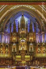Notre Dame Alter, Montreal QC