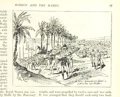 """British Library digitised image from page 105 of """"Gordon and the Mahdi, an illustrated narrative of the war in the Soudan, etc"""""""