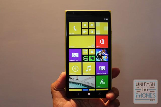 Lumia 1520 in UTP's hands