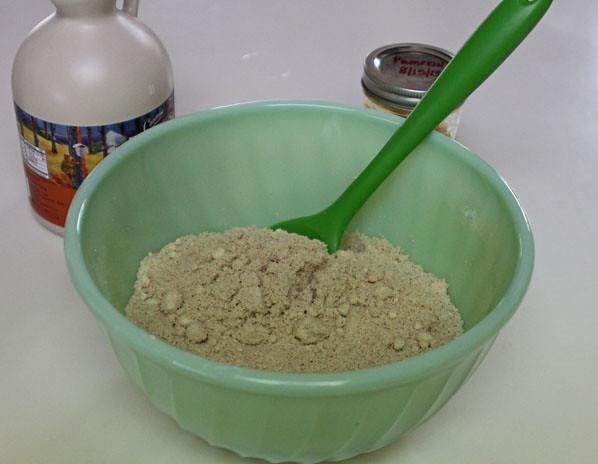 Paleo Vegan Pumpkin Cake Balls - Dry Ingredients