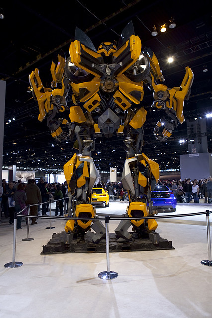 Transformers Car at the Chicago Auto Show 2009