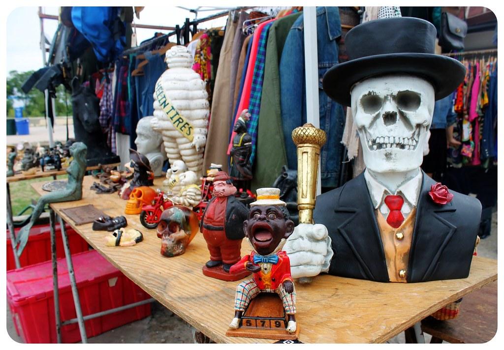 williamsburg flea market skull