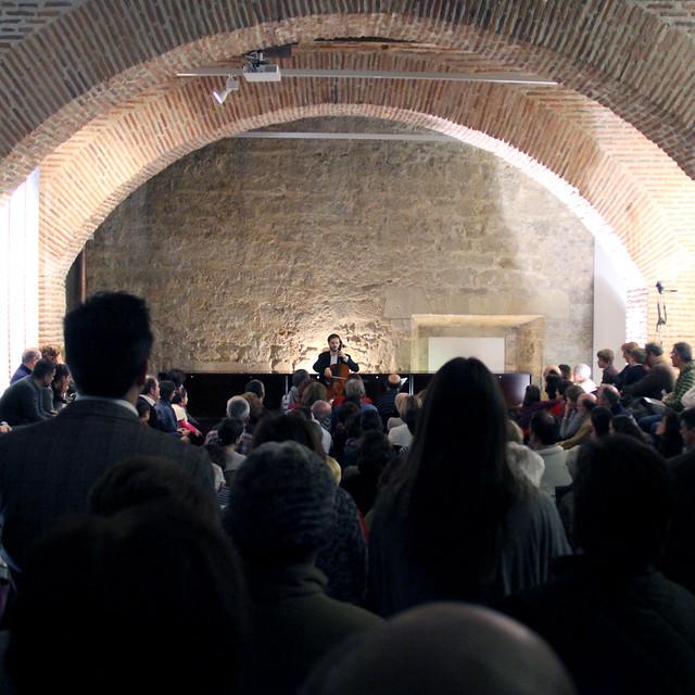 ESTEBAN BELINCHÓN, VIOLONCELLO - PALACIO DEL CONDE LUNA - LEÓN 30.12.13
