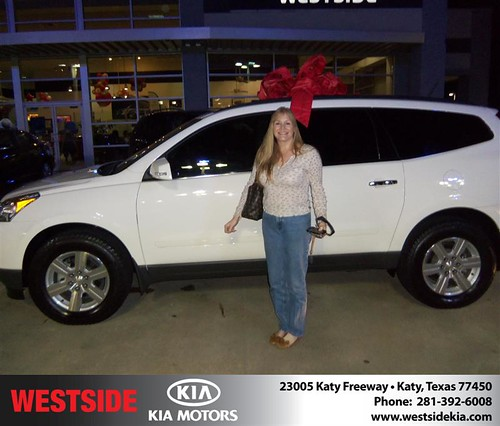 Happy Anniversary to David C Kelly Jr on your 2010 #Chevrolet #Traverse from Suliveras Wilfredo and everyone at Westside Kia! #Anniversary by Westside KIA
