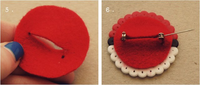 diy pokeball brooch 4