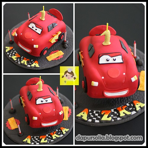 Car Cake for Azka