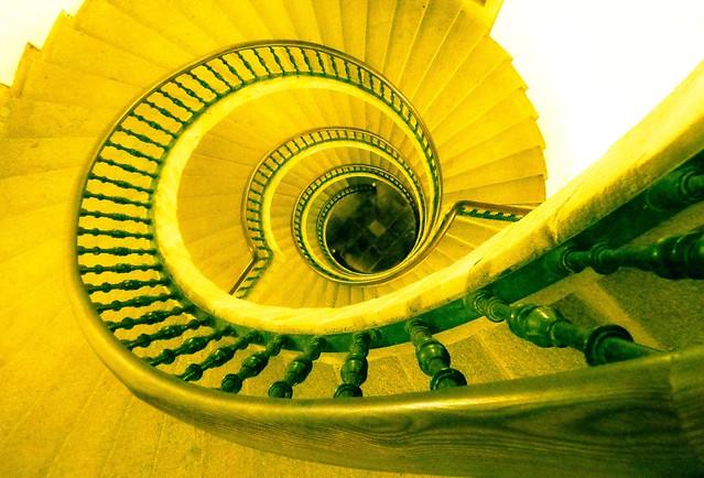 Escaleira helicoidal de Bonaval (Domingo de Andrade) - 3