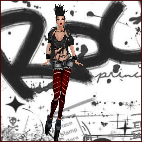 AsHmOoT_AW Coll_ROCK'n ROLL_Outfit by Orelana resident
