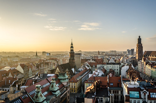 sunset panorama sun tower skyline nikon towers sigma poland polska fromabove oldtown wroclaw goldenhour observationdeck wrocław silesia śląsk breslau staremiasto historicarchitecture sigma1020 cityfromabove breslavia lowersilesia dolnyśląsk nikond7000 panoramawrocławia
