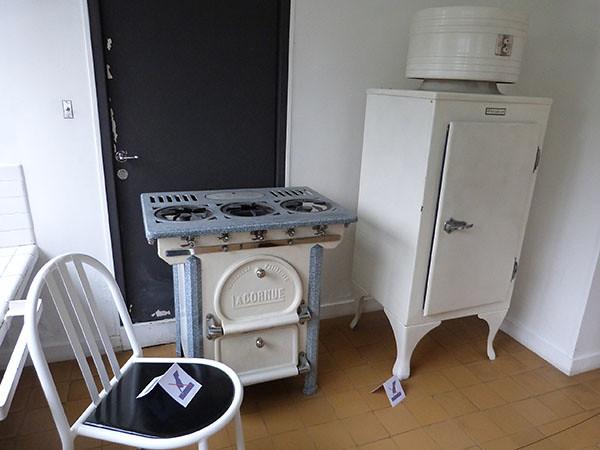 frigo et cuisinière