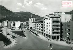 postcard - bolzano - corso italia - 1961
