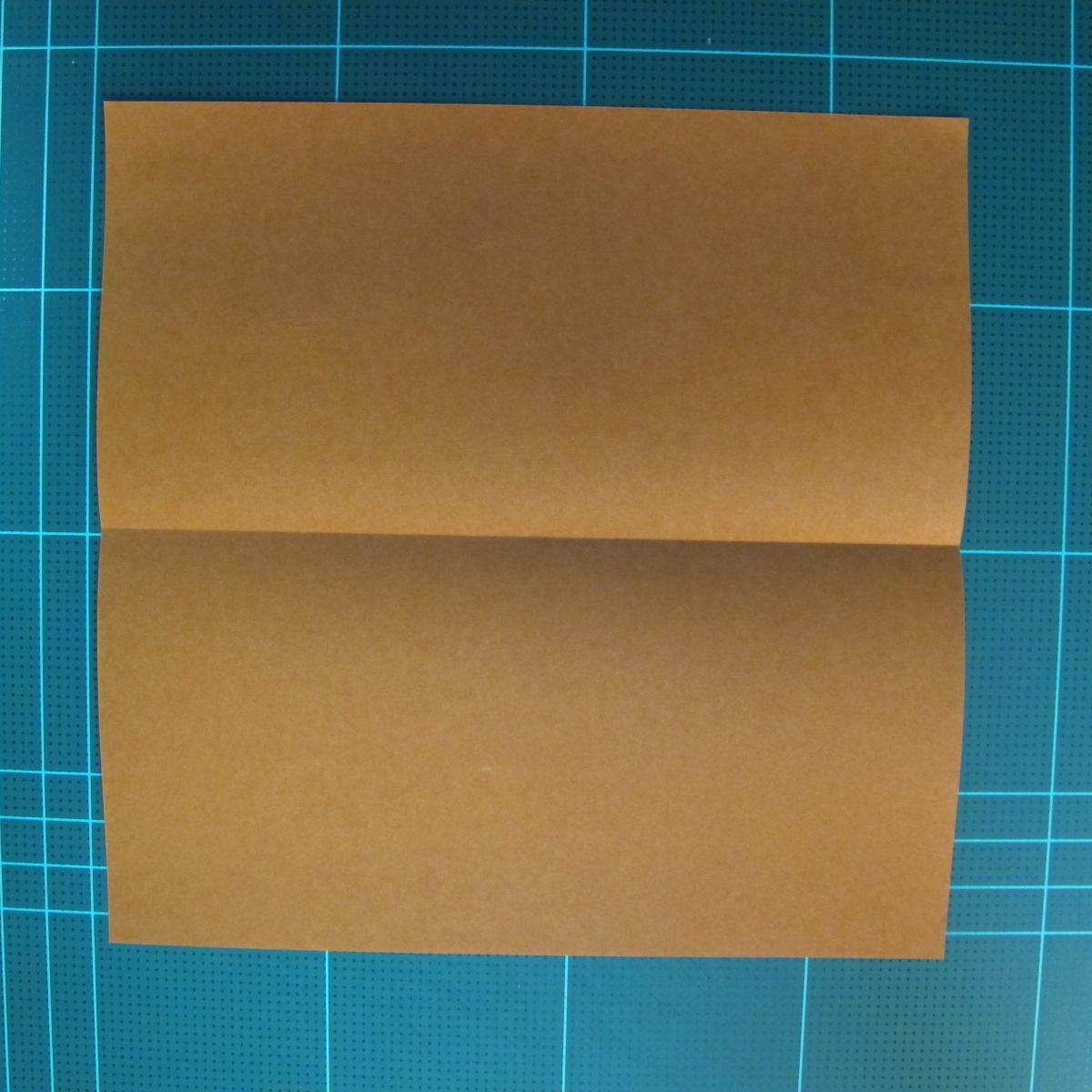 วิธีการพับกระดาษเป็นรูปกบ (แบบโคลัมเบี้ยน) (Origami Frog) 003