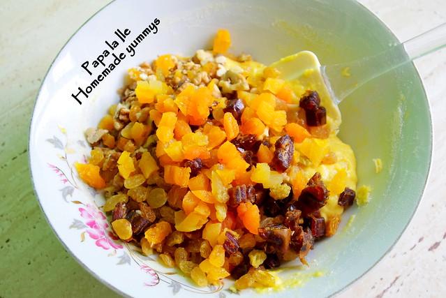 Biscuiti cu fructe uscate si nuca (5)