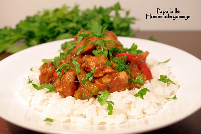 Orez cu legume si carne de curcan (10)