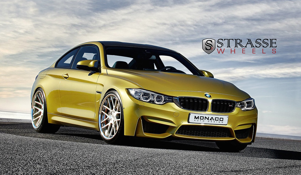 Bmw M4 Imagined With Aftermarket Wheels Page 6